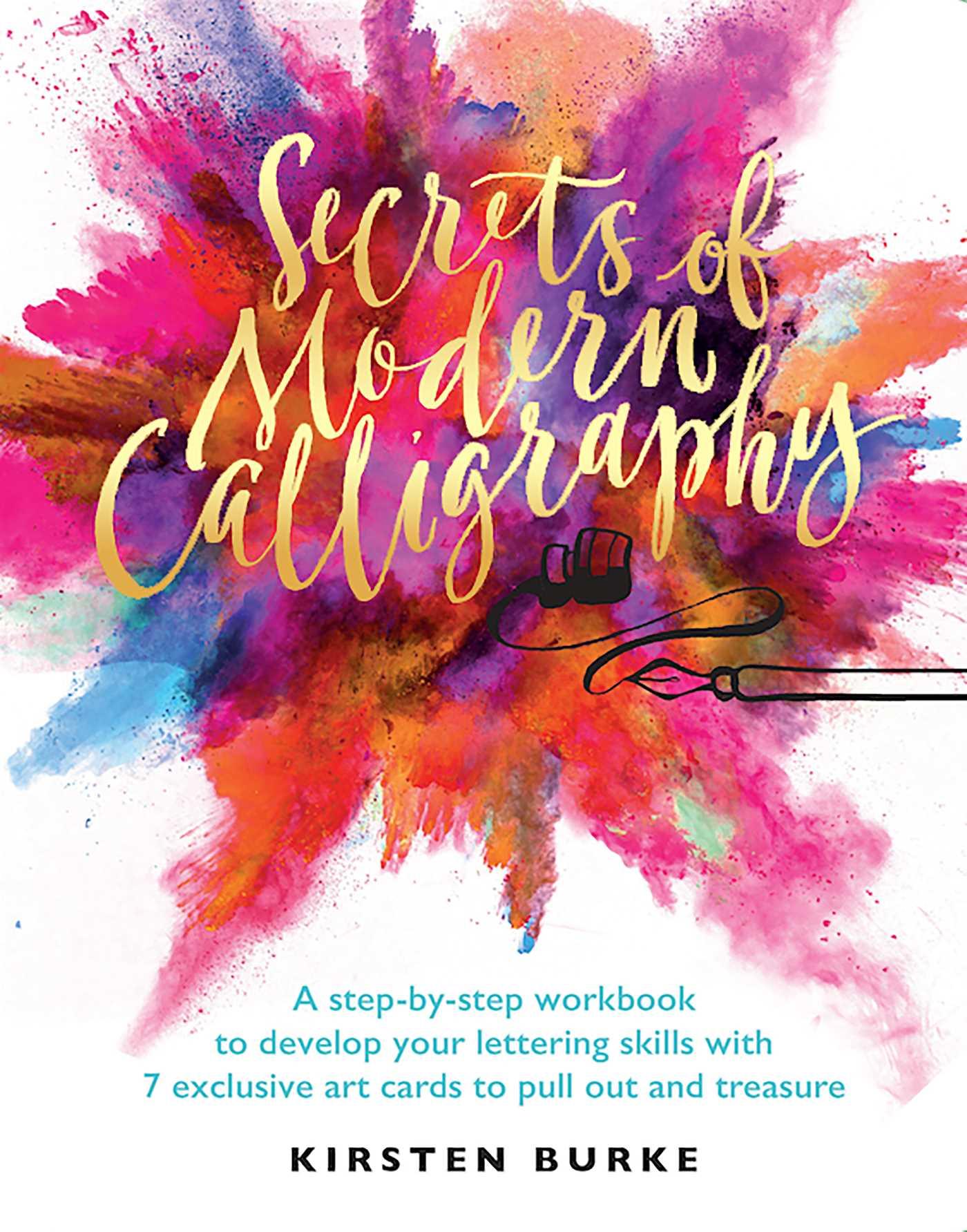 Secrets of modern calligraphy 9781681883823 hr