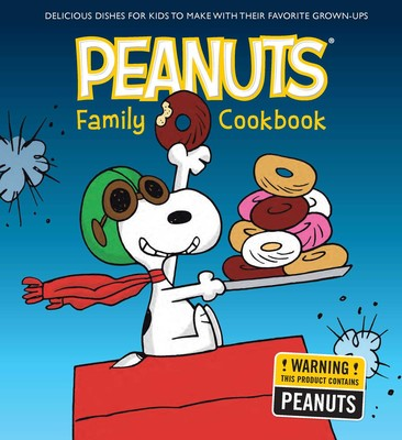 the peanuts family cookbook book by weldon owen official