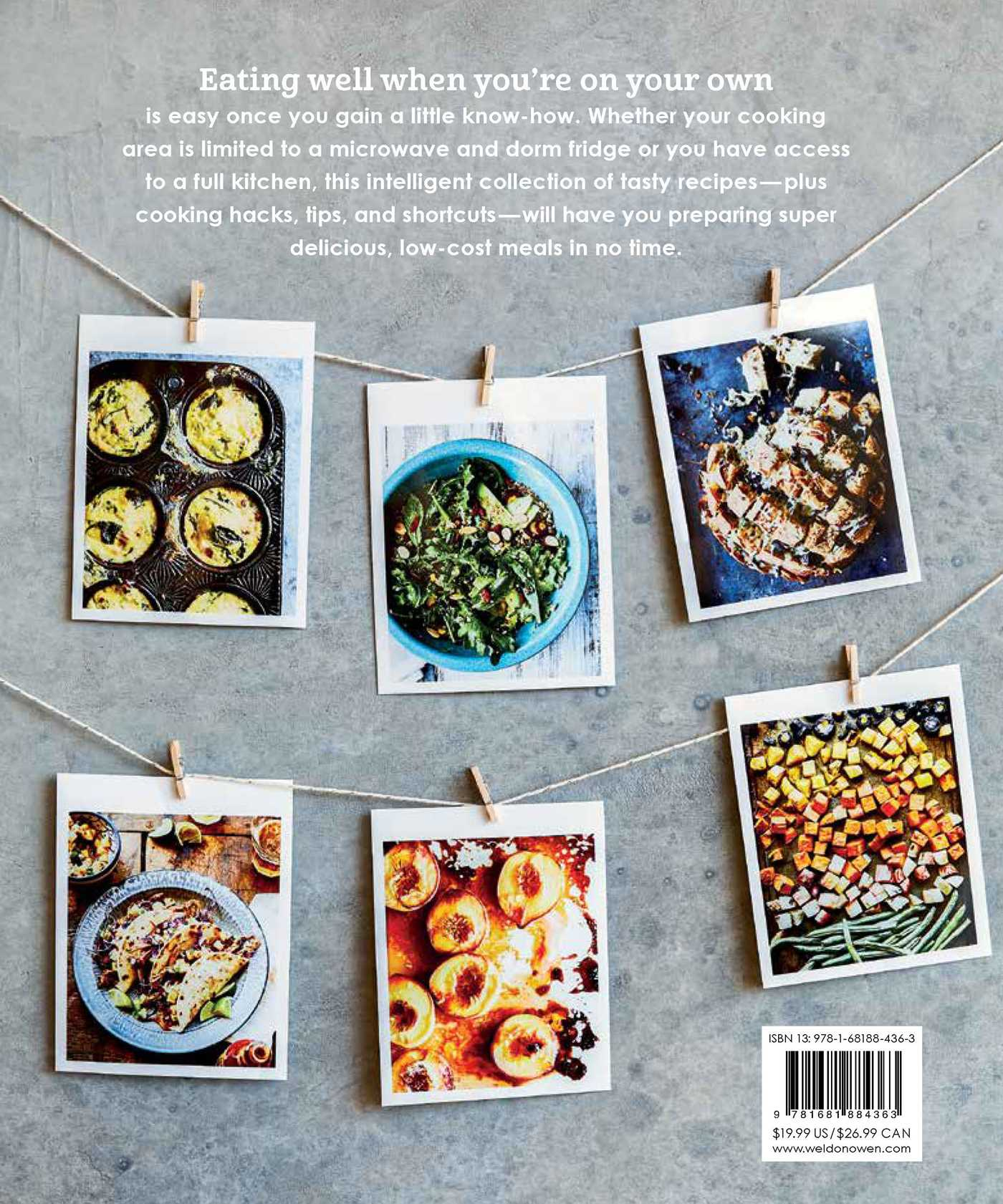 The college cookbook 9781681884363 hr back