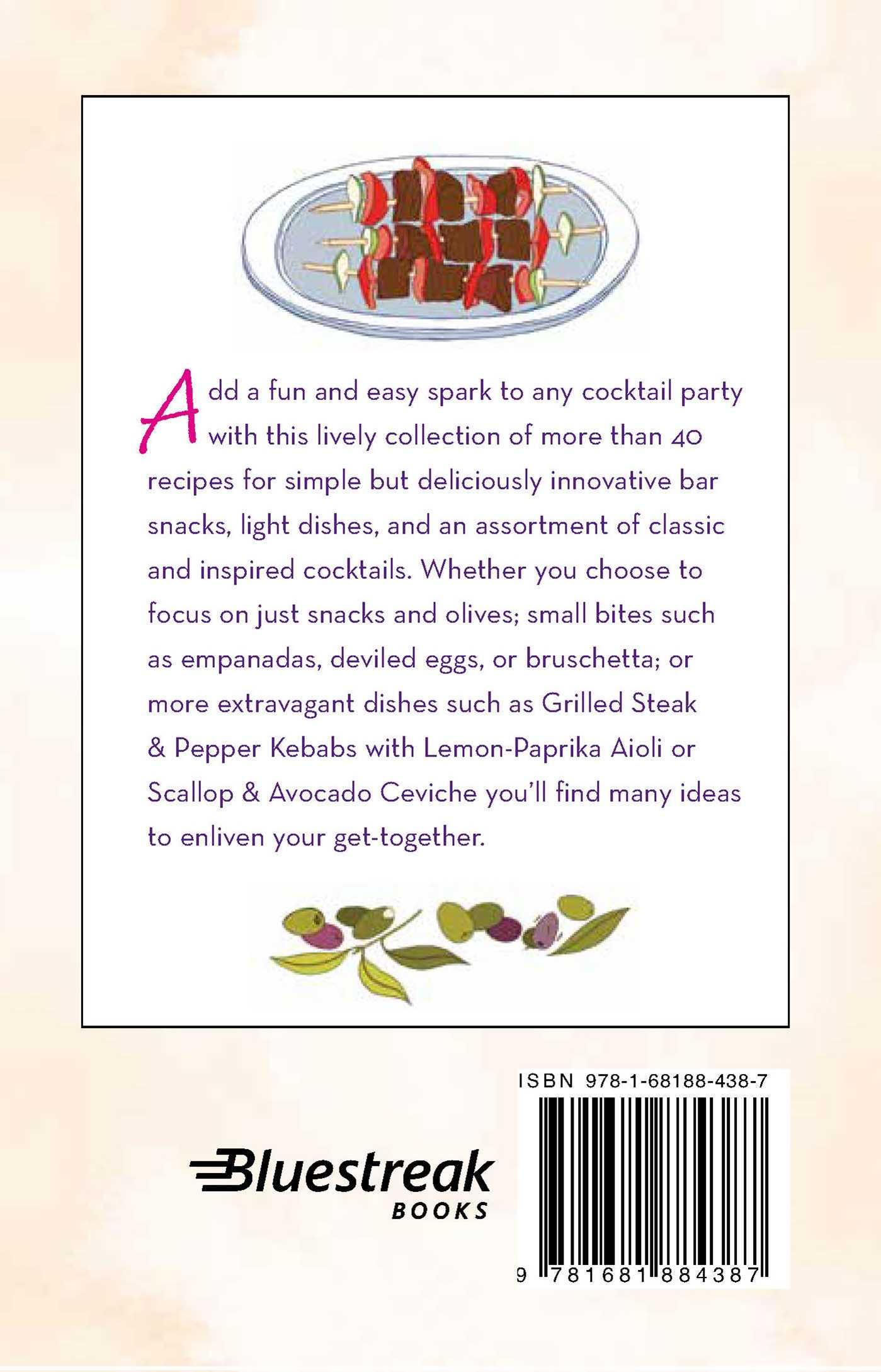 Little book of cocktail bites 9781681884387 hr back