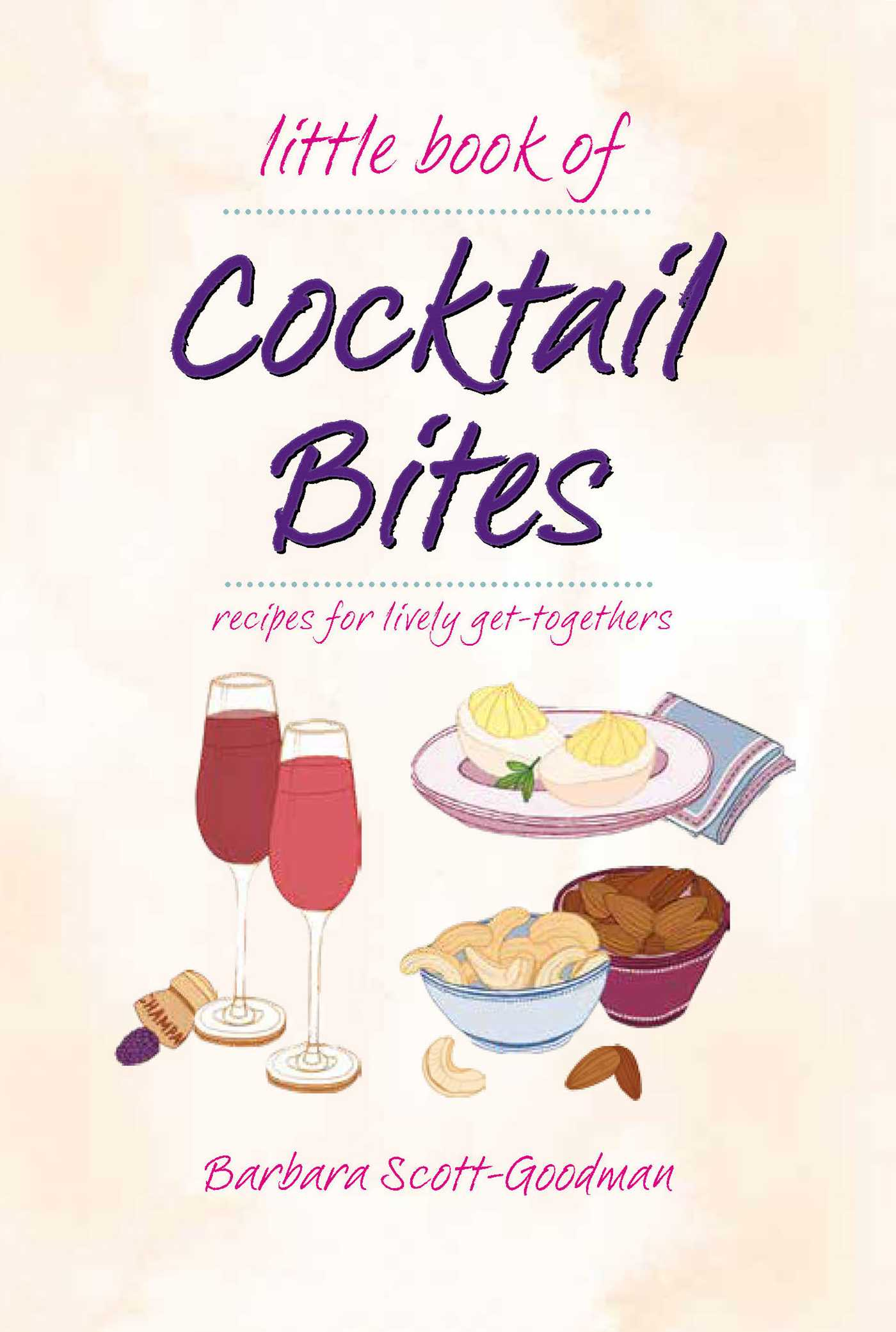 Little book of cocktail bites 9781681884387 hr