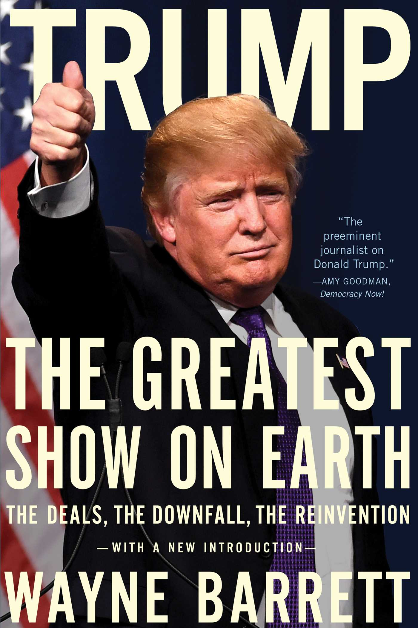 Trump book by wayne barrett official publisher page simon trump 9781682450796 hr fandeluxe Choice Image