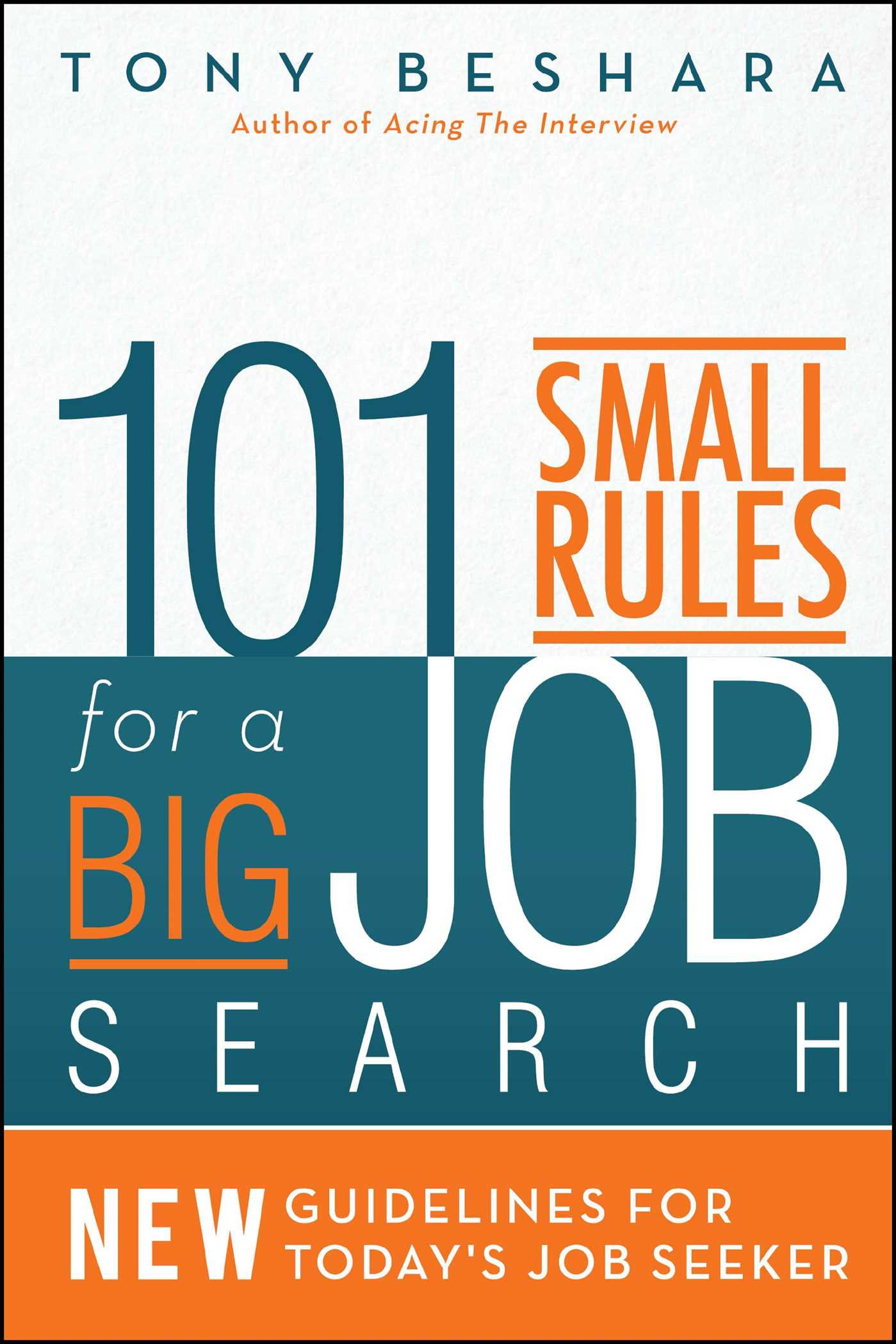 101 small rules for a big job search 9781682613689 hr