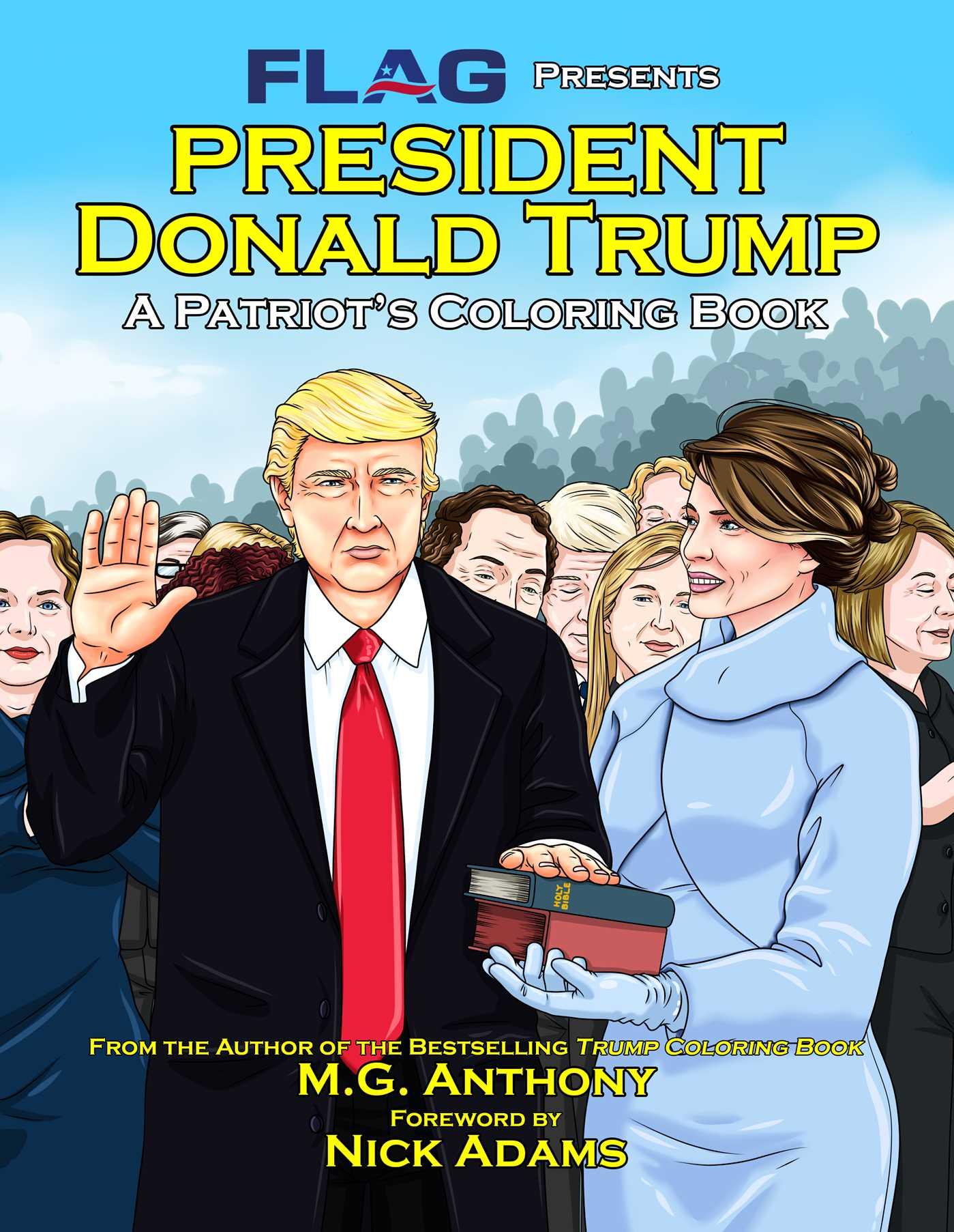 President donald trump 9781682614549 hr