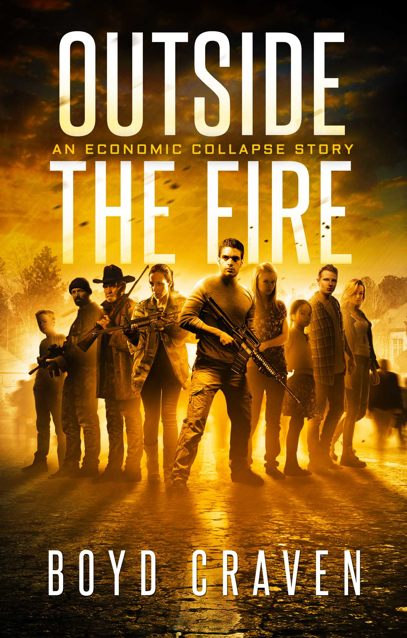 Outside the fire 9781682617663 hr