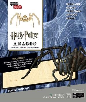 IncrediBuilds: Harry Potter: Aragog 3D Wood Model and Booklet