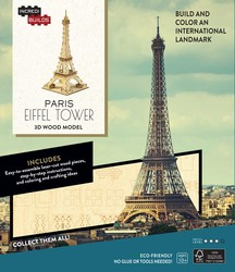 IncrediBuilds: Paris: Eiffel Tower 3D Wood Model