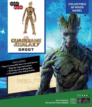 IncrediBuilds: Marvel: Groot: Guardians of the Galaxy 3D Wood Model
