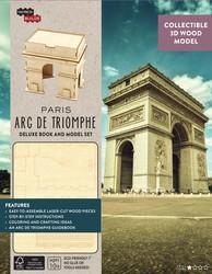 IncrediBuilds: Paris: Arc de Triomphe Deluxe Model and Book Set