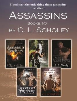ASSASSINS SERIES- BOOKS 1-5