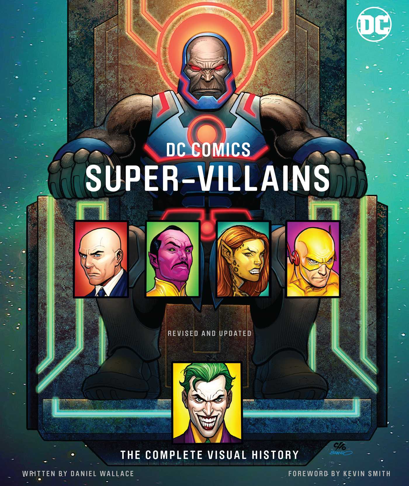 dc comics super villains book by daniel wallace kevin smith phil