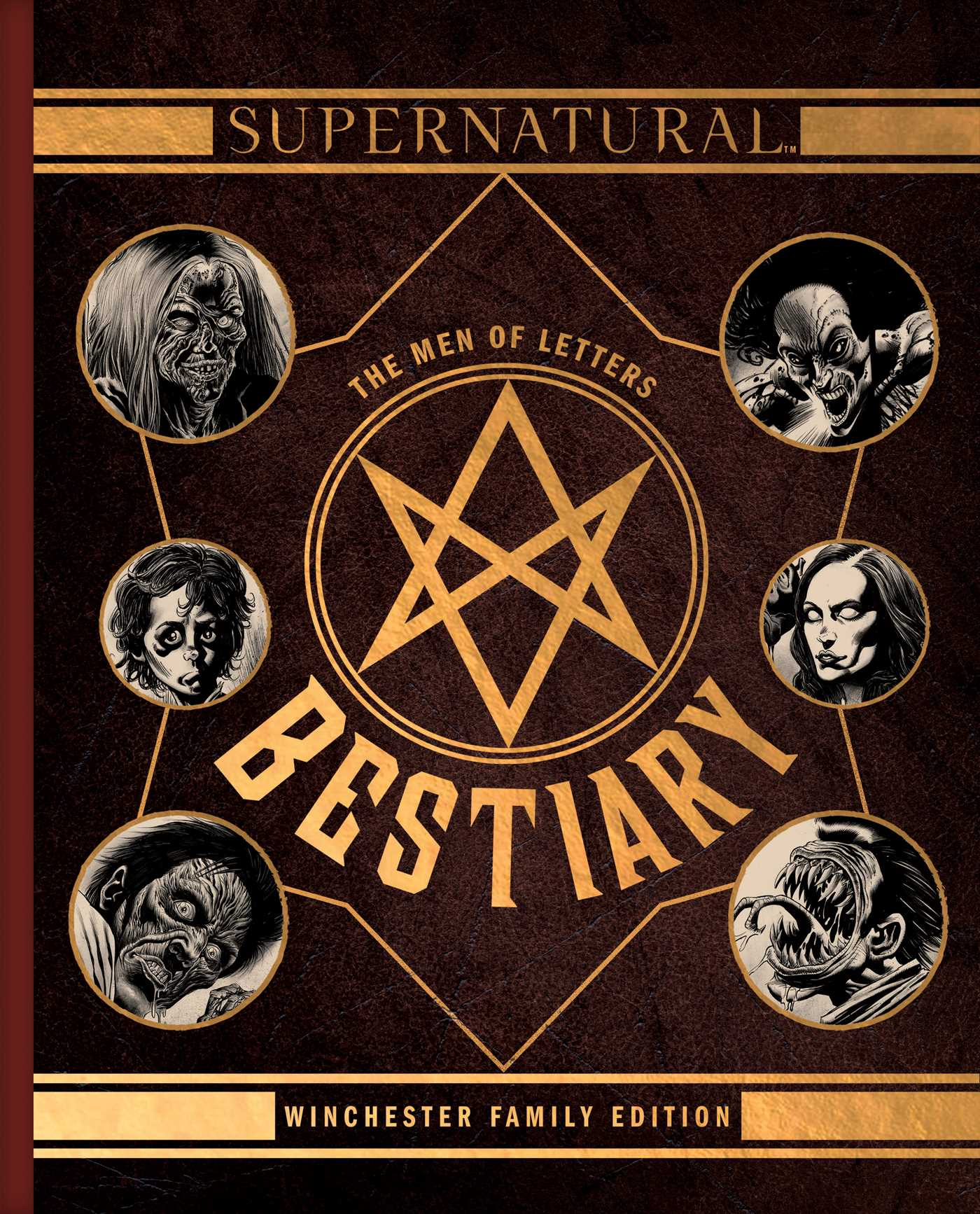 Supernatural The Men Of Letters Bestiary Book By Waggoner Kyle