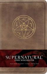 Supernatural: John Winchester Hardcover Ruled Journal
