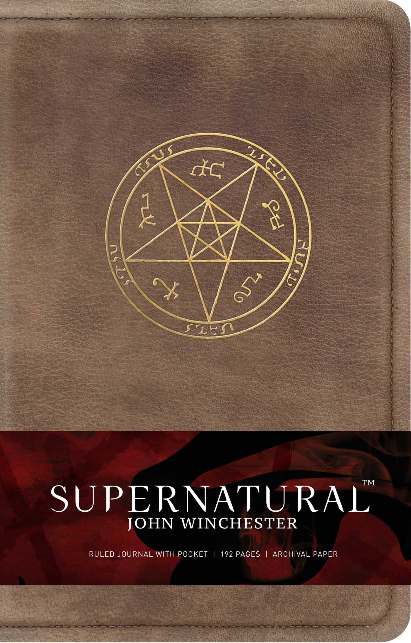 Supernatural john winchester hardcover ruled journal 9781683830740 hr