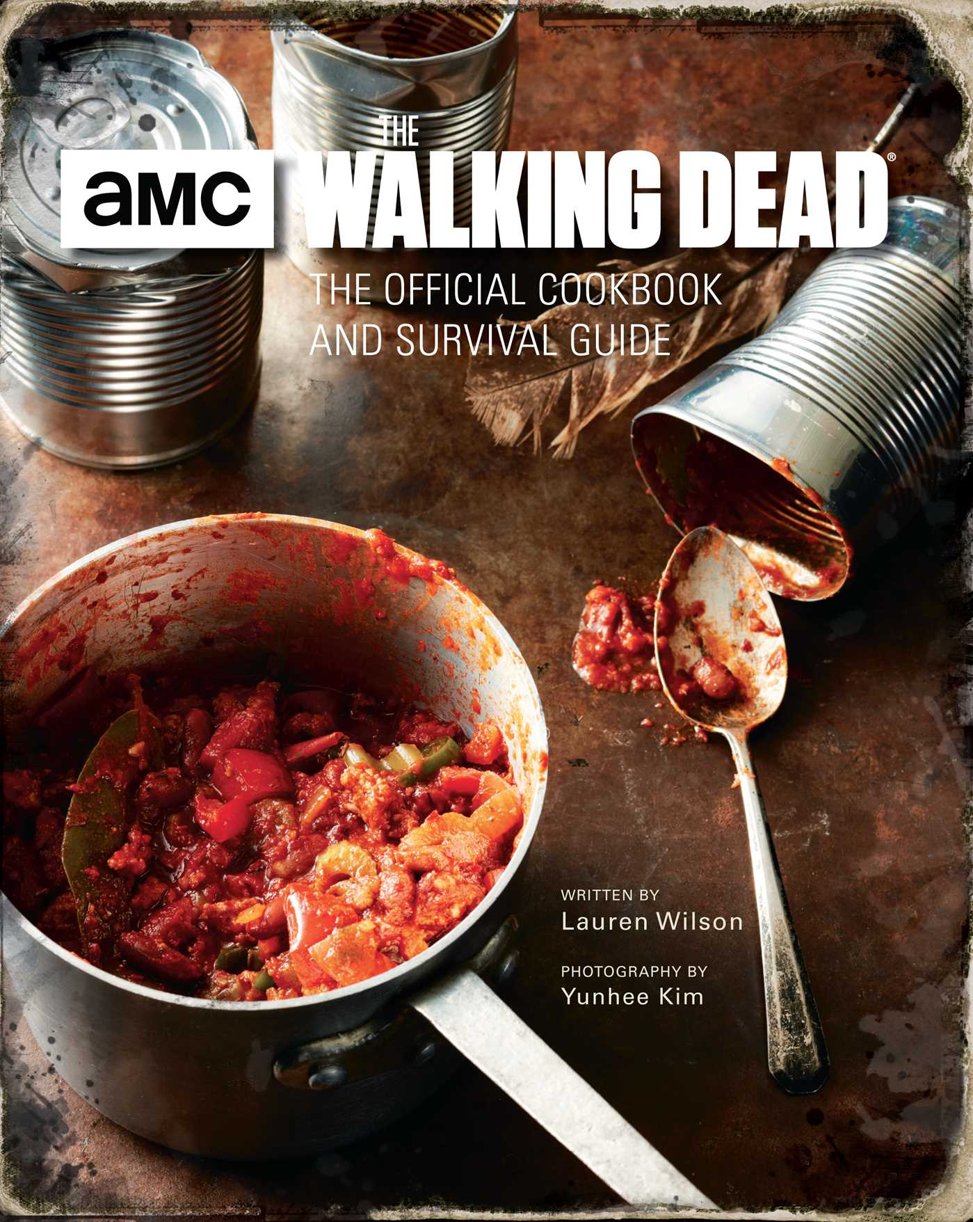 The walking dead the official cookbook and survival guide 9781683830788 hr