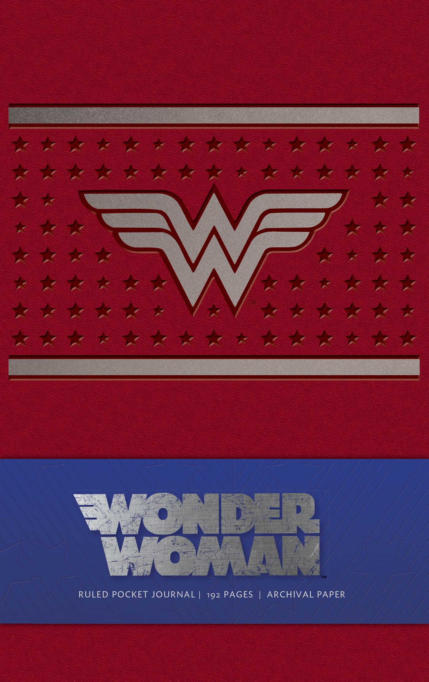 Wonder Woman Ruled Pocket Journal | Book by Wallace