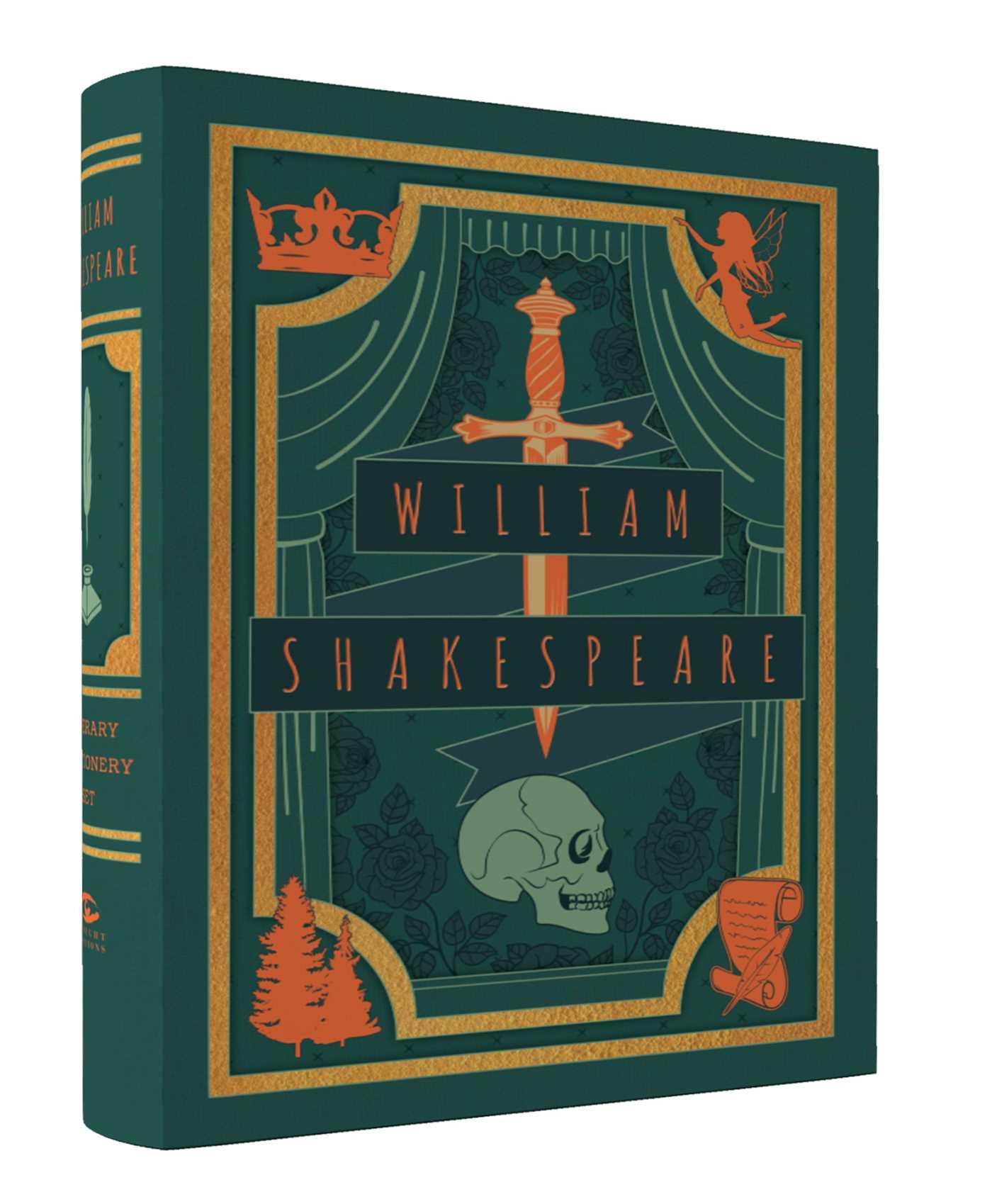 Literary stationery sets william shakespeare 9781683831044 hr
