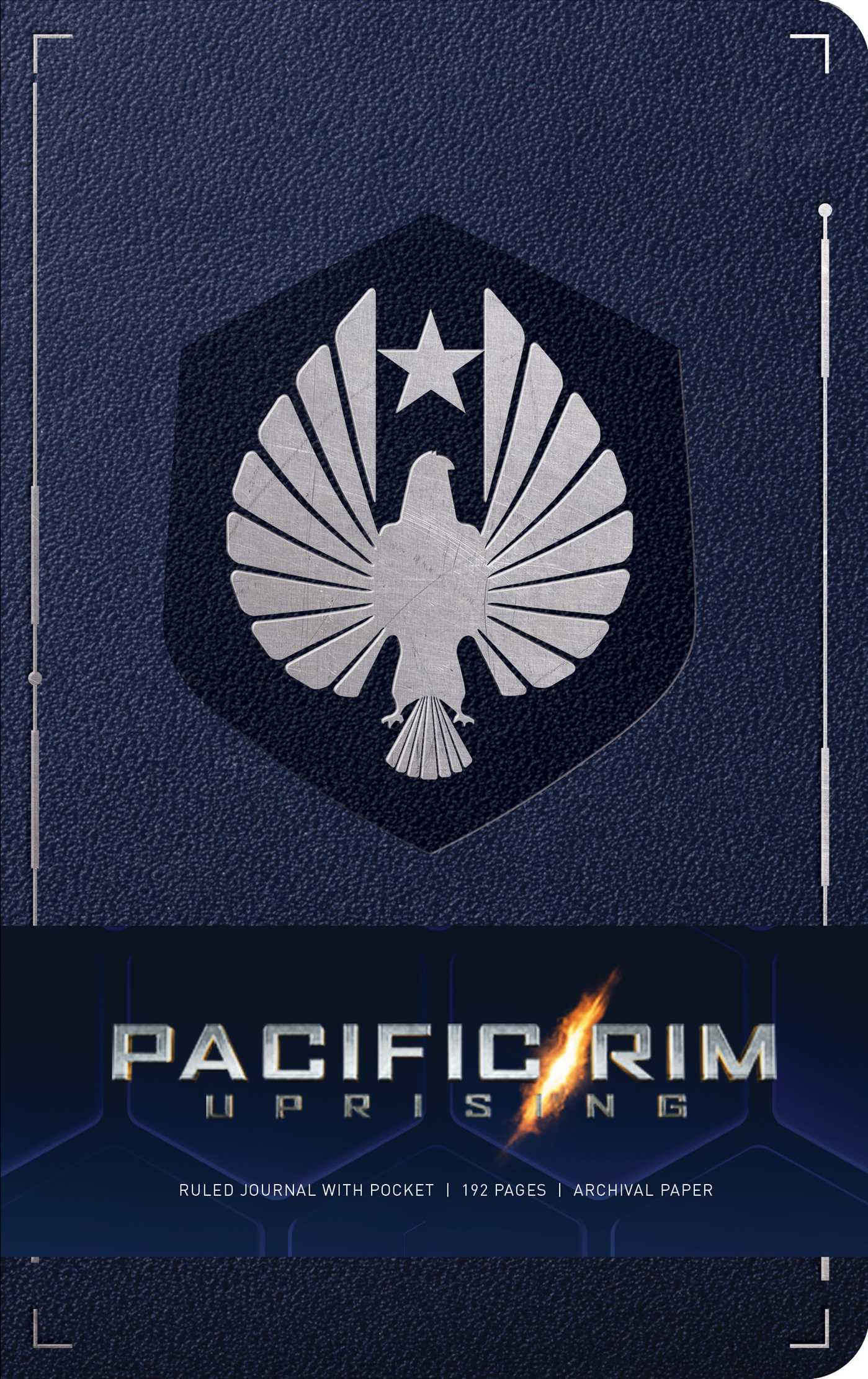pacific rim uprising hardcover ruled journal