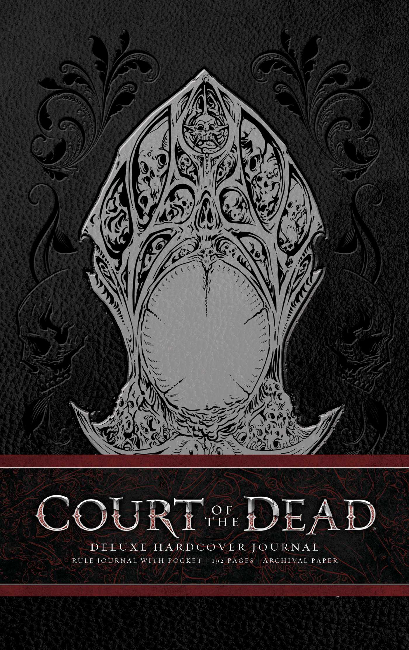 Court of the dead hardcover ruled journal 9781683831228 hr