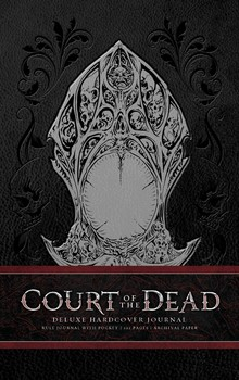 Court of the Dead Hardcover Ruled Journal