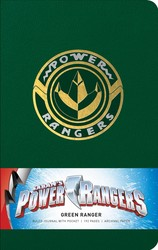 Power Rangers: Green Ranger Hardcover Ruled Journal