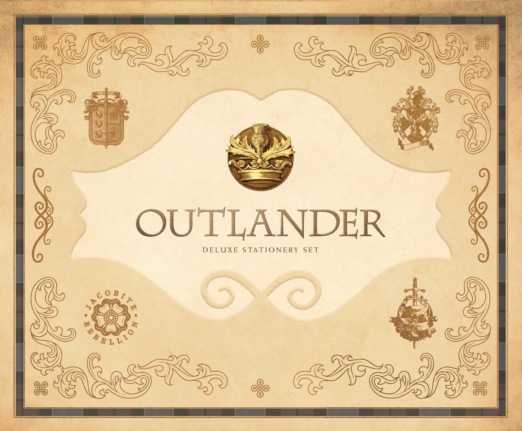 Outlander deluxe stationery set 9781683831495 hr