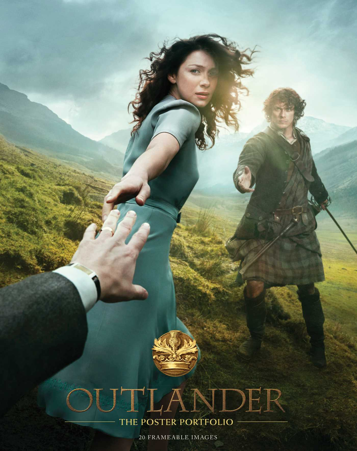 Outlander: The Poster Portfolio | Book by Insight Editions ...