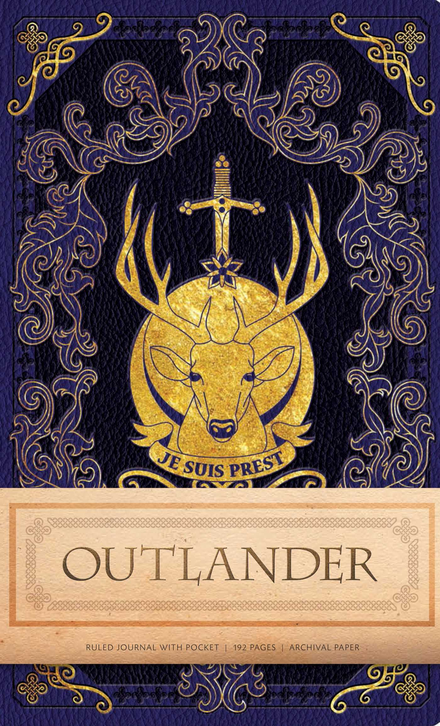 Outlander hardcover ruled journal 9781683831556 hr