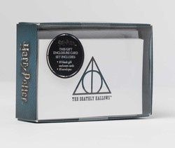 Harry Potter: Deathly Hallows Foil Gift Enclosure Cards (Set of 10)