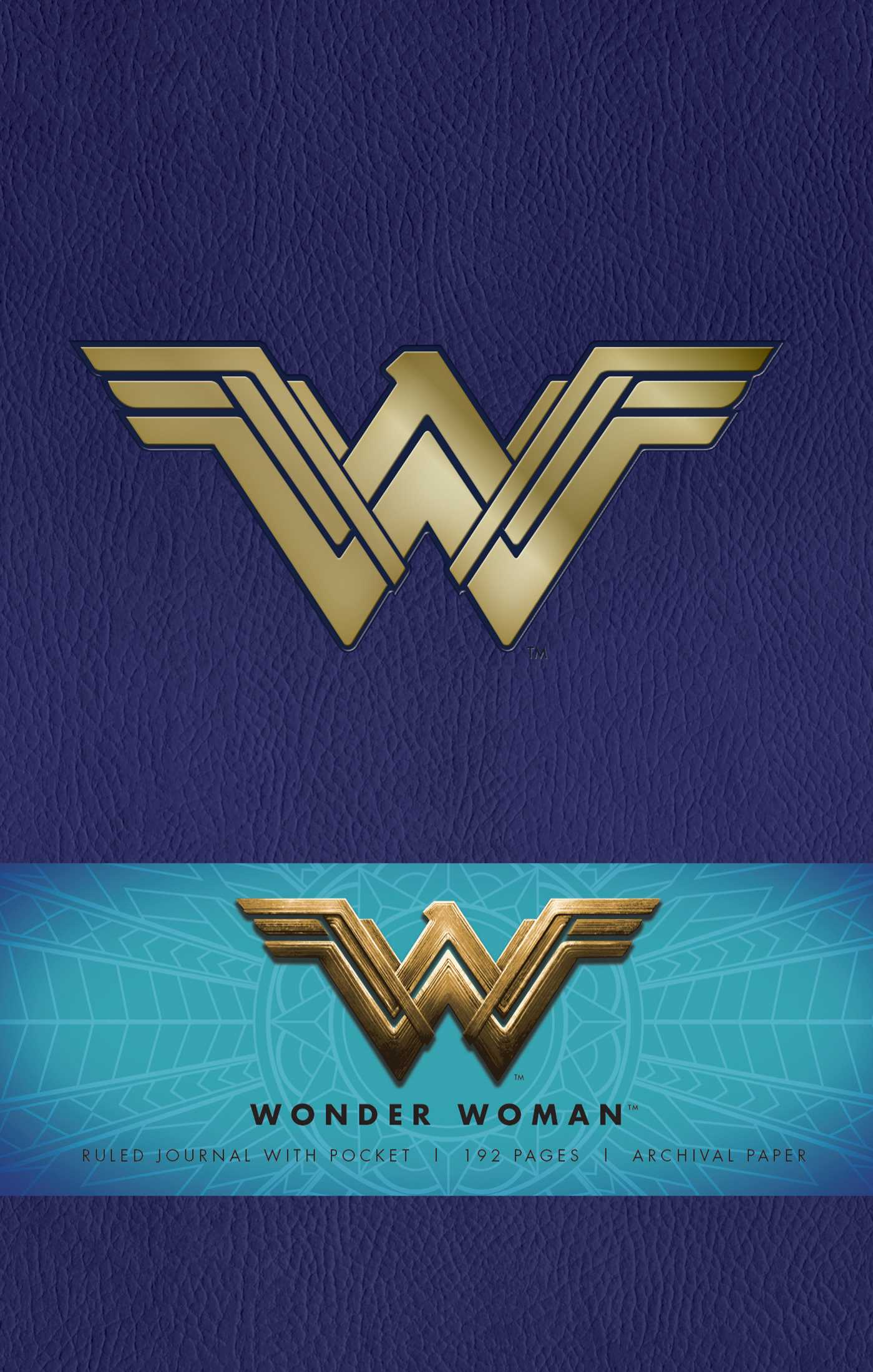 DC Comics: Wonder Woman Hardcover Ruled Journal | Book by