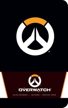 Overwatch Ruled Notebook