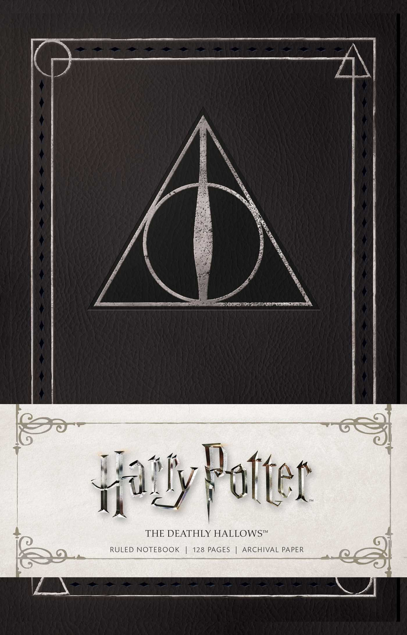 Harry Potter The Deathly Hallows Ruled Notebook Book By Insight