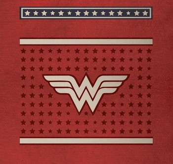 dc comics wonder woman deluxe stationery set