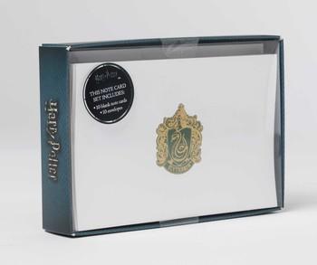 harry potter slytherin foil note cards set of 10