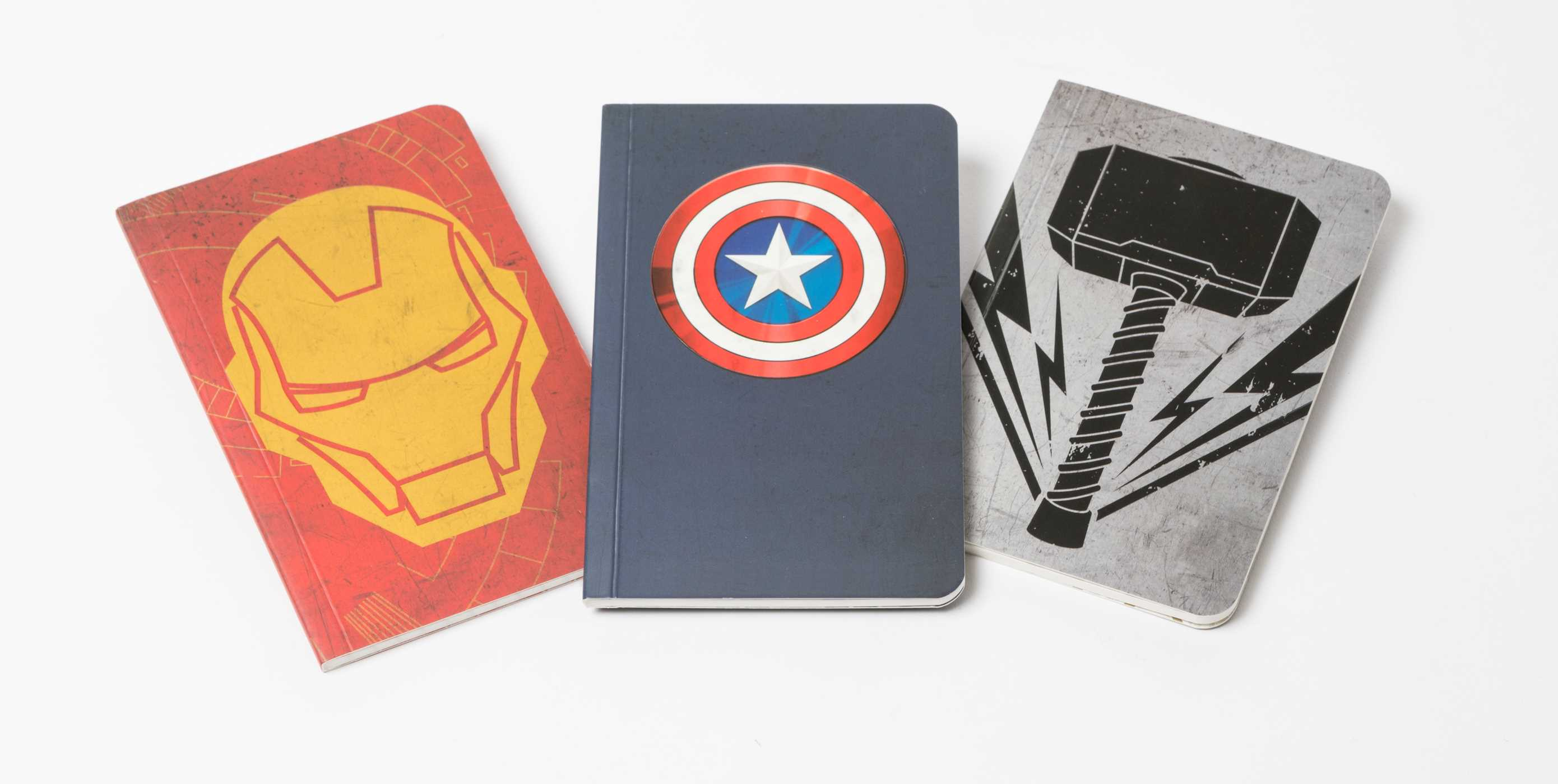 Marvels avengers pocket notebook collection set of 3 9781683832843 hr