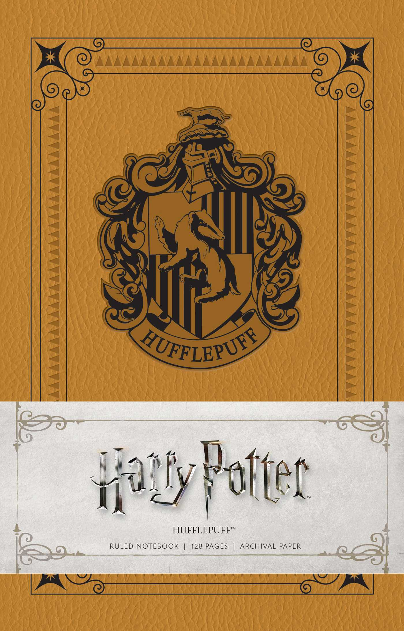 Harry Potter Book Lengths Pages : Harry potter hufflepuff ruled notebook book by insight