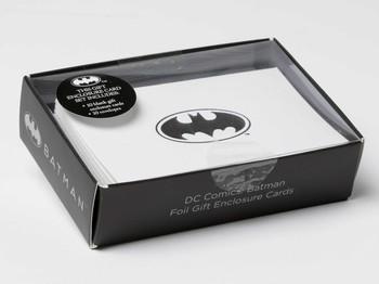 DC Comics Batman Foil Gift Enclosure Cards Set Of 10