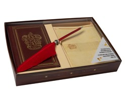 Harry Potter: Gryffindor Desktop Stationery Set (With Pen)