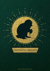 Fantastic Beasts and Where to Find Them: Magical Creatures Hardcover Blank Sketchbook