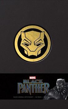 Marvel's Black Panther Hardcover Ruled Journal