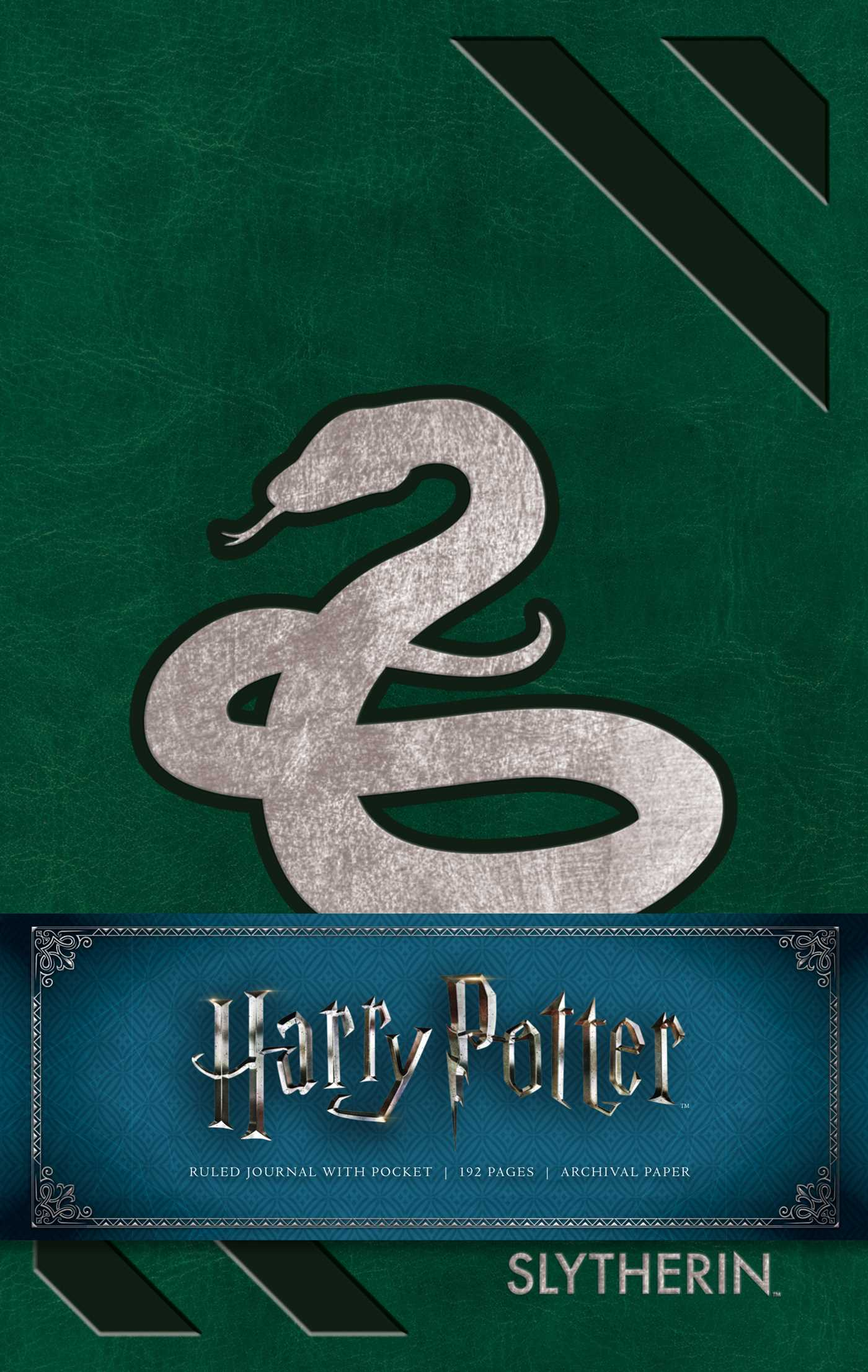 Harry potter slytherin hardcover ruled journal 9781683833185 hr