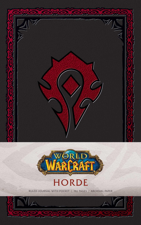 World of warcraft horde hardcover ruled journal 9781683833260 hr