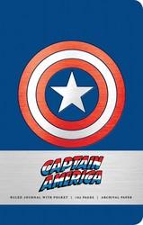 Marvel: Captain America Hardcover Ruled Journal