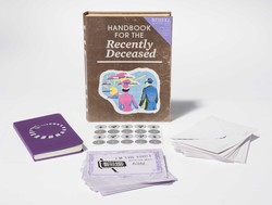 Beetlejuice: Handbook for the Recently Deceased Deluxe Note Card Set (With Keepsake Book Box)