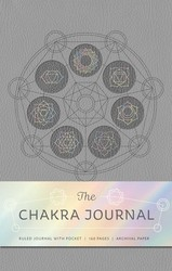 The Seven Chakras Hardcover Ruled Journal