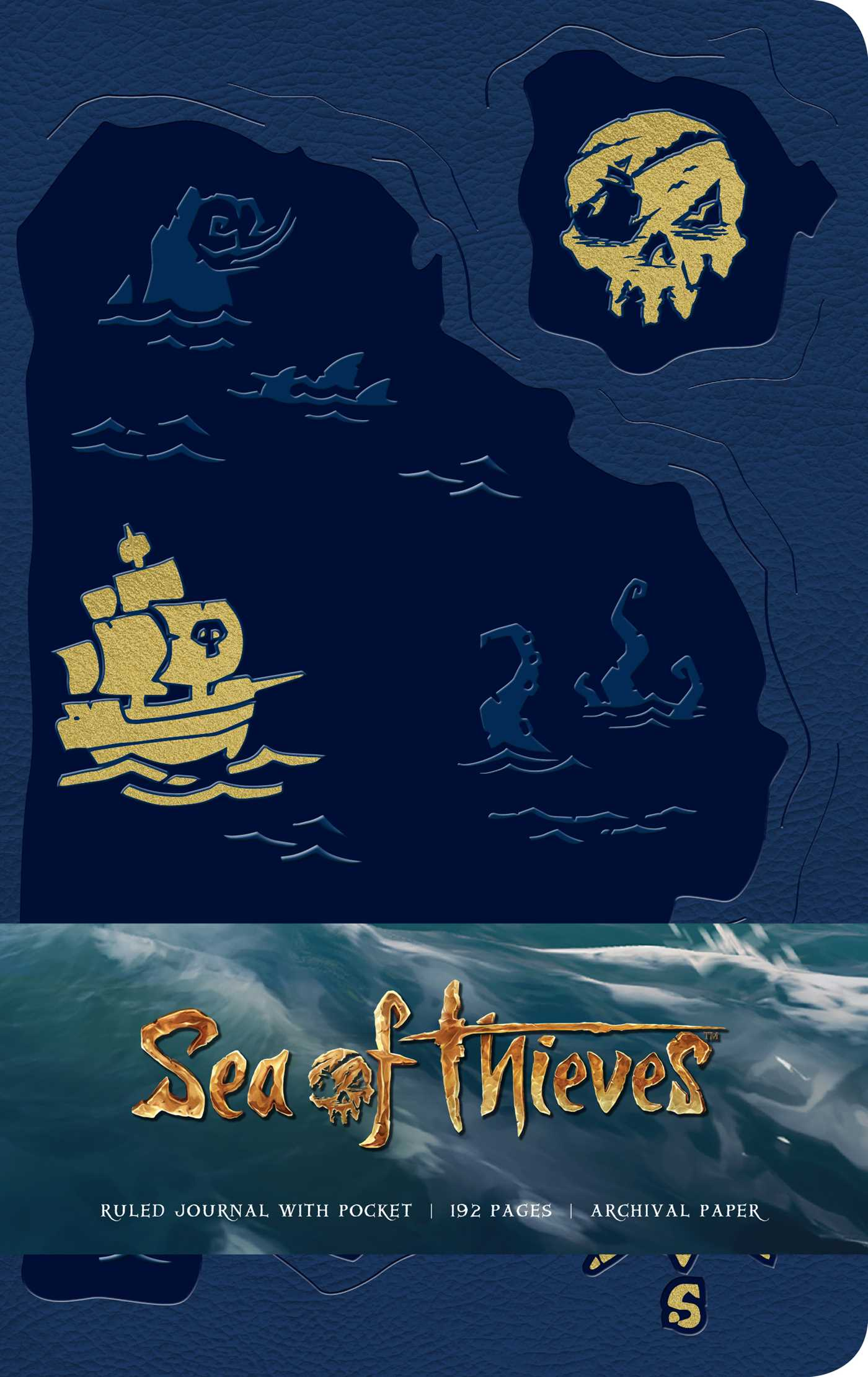 Sea of thieves hardcover ruled journal 9781683834885 hr