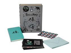 Rick and Morty Deluxe Note Card Set (With Keepsake Book Box)
