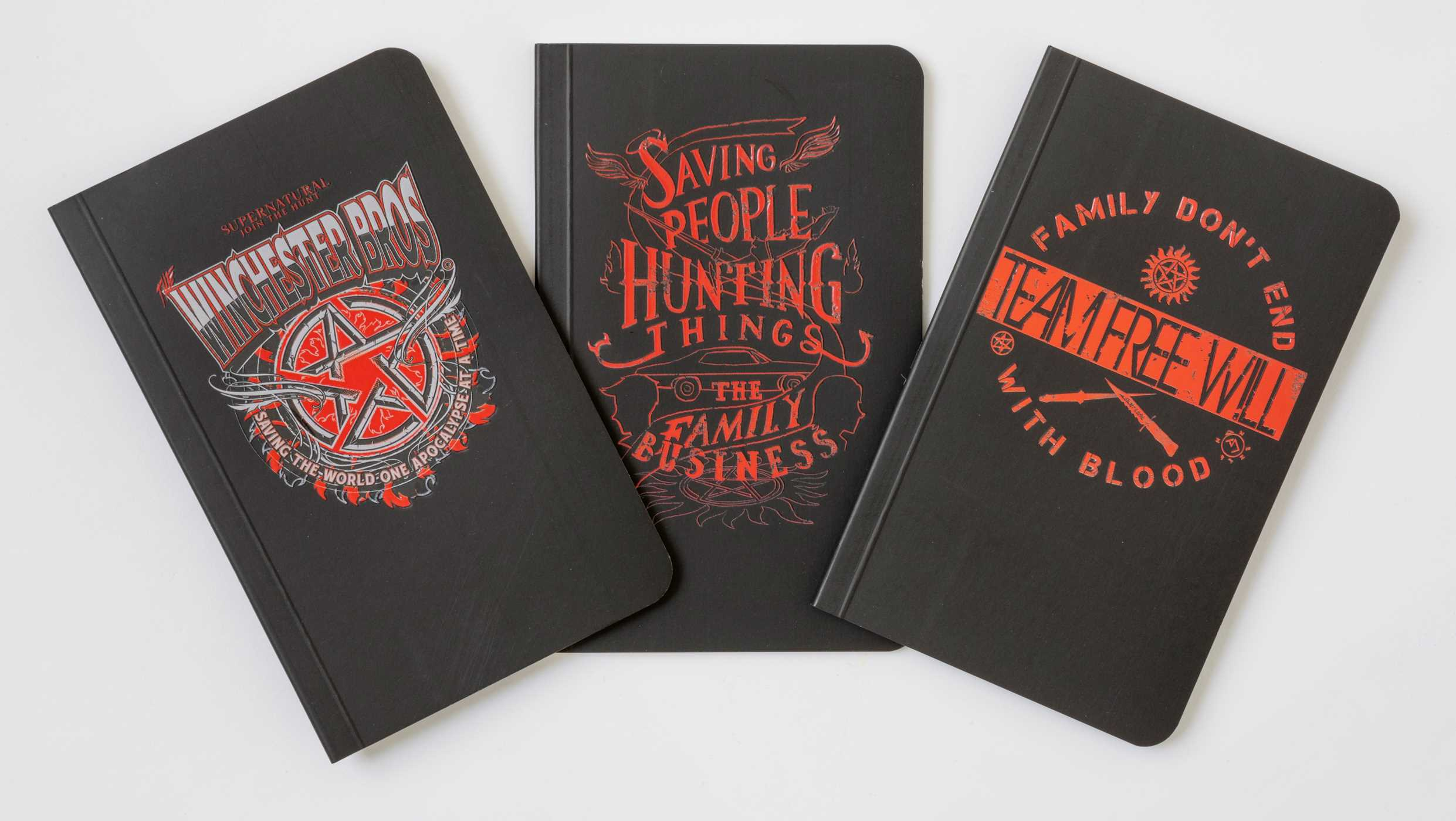 Supernatural pocket notebook collection set of 3 9781683835264 hr