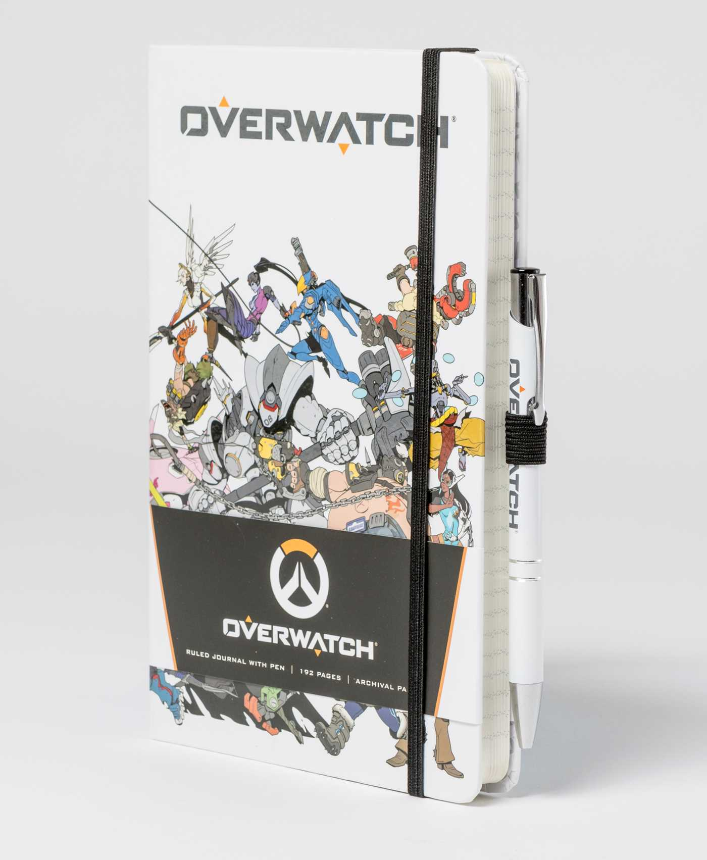 Overwatch hardcover ruled journal with pen 9781683835387 hr