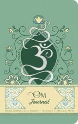 Om Hardcover Ruled Journal